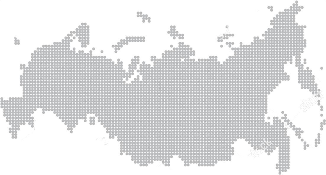 Карта обслуживания по России